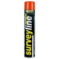 Everbuild Surveyline Line Marking Spray Paint Red - 700ml