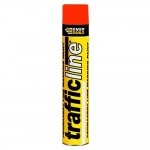 Everbuild Trafficline Line Marking Spray Paint Red - 700ml