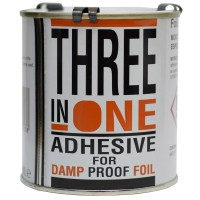 Anderton Three in One Damp Proof Lining Foil Paper Adhesive - 500ml