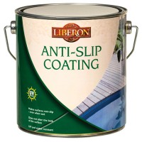 Liberon Anti Slip Decking and Stone Coating - 2.5 Litre