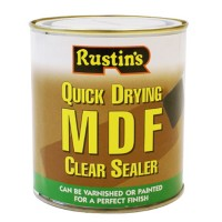 Rustins Quick Drying MDF Sealer Clear - 500ml