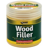 Everbuild Multi-Purpose Premium Joiners Grade Wood Filler Dark Oak 250ml