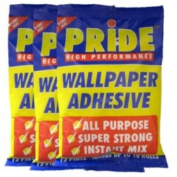 Pride All Purpose Super Strong Wallpaper Adhesive Paste 3x12 Pint Mix