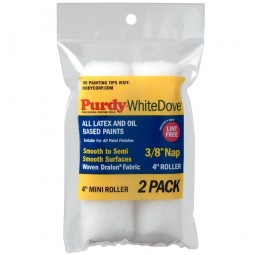 Purdy Mini Paint Roller Sleeve White Dove 4in - 3/8in Nap