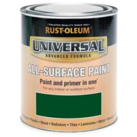 Rust-Oleum All Surface Brush Paint and Primer Racing Green Gloss - 250ml