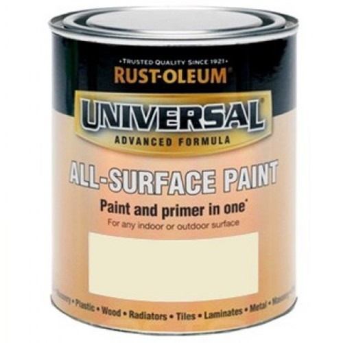 Rust oleum all surface brush paint and primer real almond - Exterior paint and primer in one reviews ...