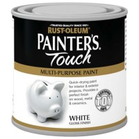 Rust-Oleum Painters Touch Toy Safe Paint White Gloss - 250ml