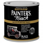 Rust-Oleum Painters Touch Toy Safe Paint Black Gloss - 250ml
