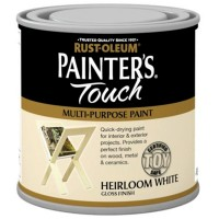 Rust-Oleum Painters Touch Toy Safe Paint Heirloom White - 250ml