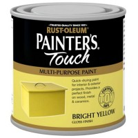Rust-Oleum Painters Touch Toy Safe Paint Bright Yellow - 250ml