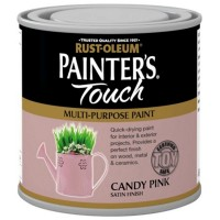 Rust-Oleum Painters Touch Toy Safe Paint Candy Pink - 250ml
