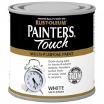 Rust-Oleum Painters Touch Toy Safe Paint White Satin - 250ml
