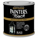 Rust-Oleum Painters Touch Toy Safe Paint Black Satin - 250ml