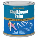 Rust-Oleum Blue Chalkboard Paint Matt Finish - 250ml