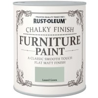 Rust-Oleum Chalky Finish Furniture Paint Laurel Green Matt 125ml