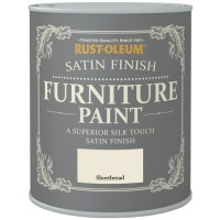 Rust-Oleum Satin Finish Furniture Paint Shortbread 750ml