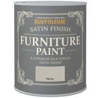 Rust-Oleum Satin Finish Furniture Paint Mocha 750ml