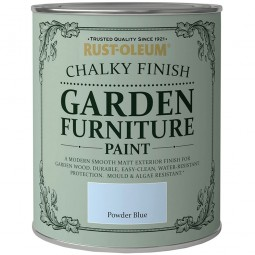 Rust-Oleum Chalky Finish Garden Furniture Paint