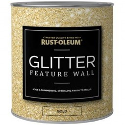 Rust-Oleum Clear Glaze Glitter Feature Wall Paint