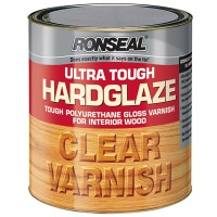Ronseal Hardglaze Ultra Tough Clear Gloss Varnish 250ml