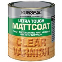 Ronseal Matt Coat Ultra Tough Clear Matt Varnish 250ml