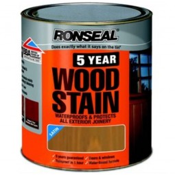 Ronseal 5 Year Woodstain Protect and Colour 750ml - Antique Pine