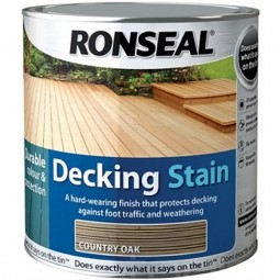 Ronseal Decking Stain 2.5L - Rich Mahogany