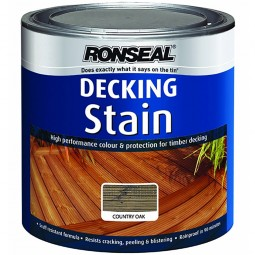 Ronseal Decking Stain 2.5L - Country Oak