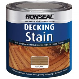 Ronseal Decking Stain 2.5L - Rustic Pine