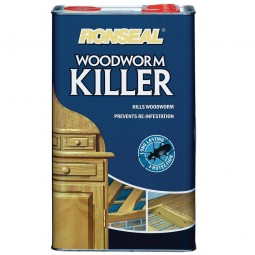 Ronseal Woodworm Killer - 5 Litre