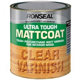 Ronseal Matt Coat Ultra Tough Clear Matt Varnish