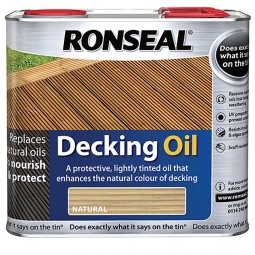 Ronseal Decking Oil 2.5L - Natural Pine