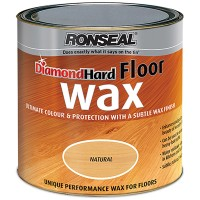 Ronseal Diamond Hard Floor Wax Natural - 2.5 Litre