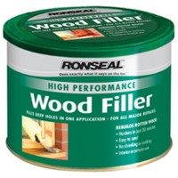 Ronseal Two-Pack Wood Filler Natural - 550G