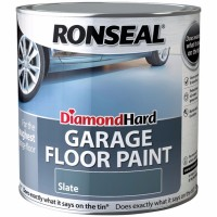 Ronseal Diamond Hard Garage Floor Paint Satin Slate - 2.5 Litre