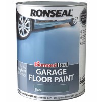 Ronseal Diamond Hard Garage Floor Paint Satin Slate - 5 Litre