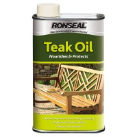 Ronseal Teak Oil 500ml - Clear