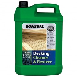 Ronseal Decking Cleaner and Reviver Clear 5 Litre