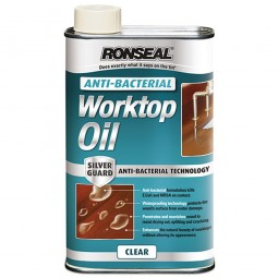 Ronseal Anti-Bacterial Hardwood Worktop Oil - 1 Litre