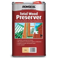 Ronseal Multi Purpose Total Wood Preserver Clear - 5 Litre