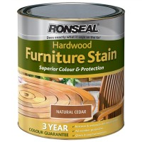 Ronseal Hardwood Furniture Stain Natural Cedar - 750ml