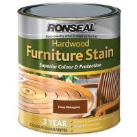 Ronseal Hardwood Furniture Stain Deep Mahogany - 750ml