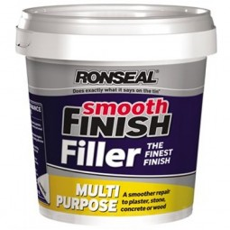 Ronseal Multi Purpose Smooth Finish Wall Filler Ready Mix Tub - 600g