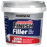 Ronseal Quick Drying Smooth Finish Wall Filler Ready Mix Tub - 600g