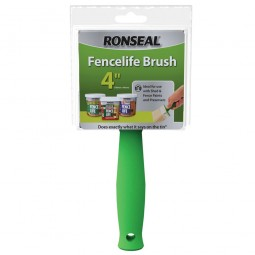 Ronseal The Big Brush Shed and Fence Painting Brush 100mm x 40mm