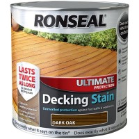 Ronseal Ultimate Protection Decking Stain Dark Oak 2.5 Litre