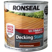 Ronseal Ultimate Protection Decking Stain Rich Mahogany 2.5 Litre