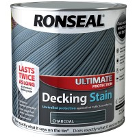 Ronseal Ultimate Protection Decking Stain Charcoal 2.5 Litre