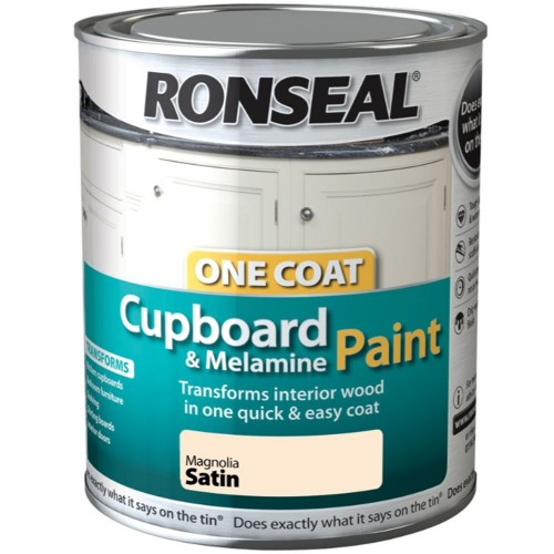 Ronseal One Coat Cupboard Mdf Melamine Paint Reviews