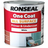Ronseal One Coat All Surface Primer and Undercoat  White - 250ml
